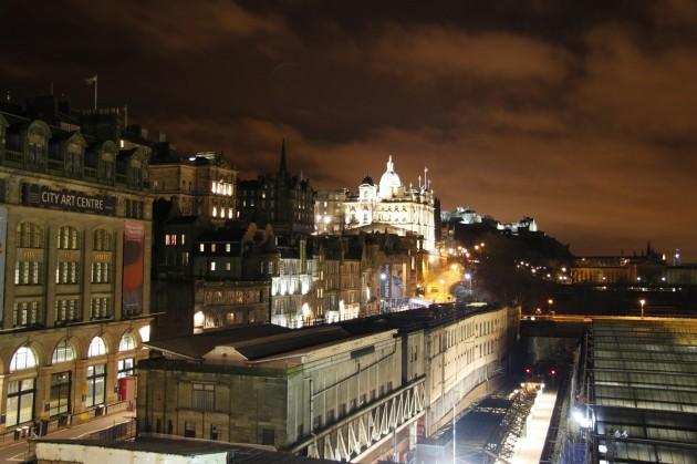 Edinburgh bei Nacht