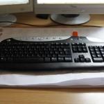 Gewaschene Tastatur