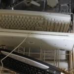 Tastaturen in Spülmaschine