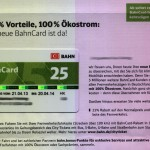 Grüne Bahn-Card