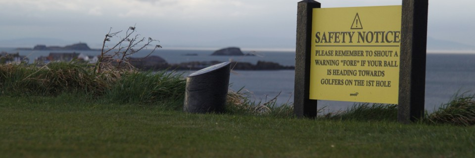 Golfplatz North Berwick