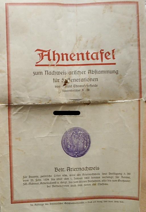 Ariernachweis