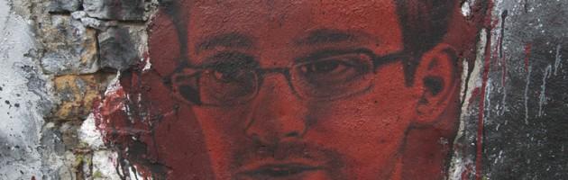 Edward Snowden Malerei