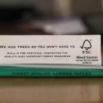 Beim Rauchen Bäume umarmen