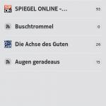ocNews 1.0.1 Folder View