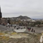 Schiffchen auf Edinburgh Castle