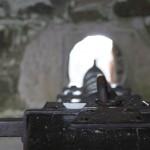 Schiffchen in Tantallon Castle