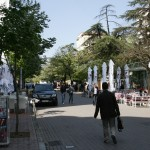 Straßen in Tirana