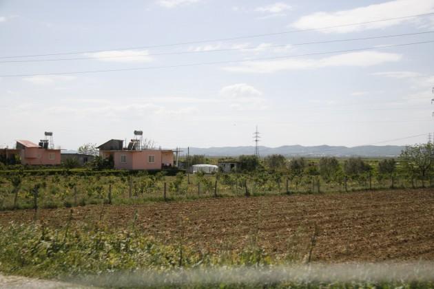 Albanien kann auch weite Flächen bieten.