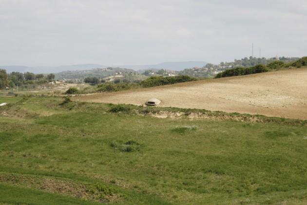 Alte Bunkeranlagen in der Nähe von Gjirokaster