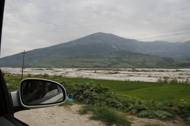 Zwischen Gjirokaster und der albanisch-griechischen Grenze
