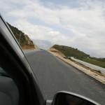 Über Albaniens Baustellen