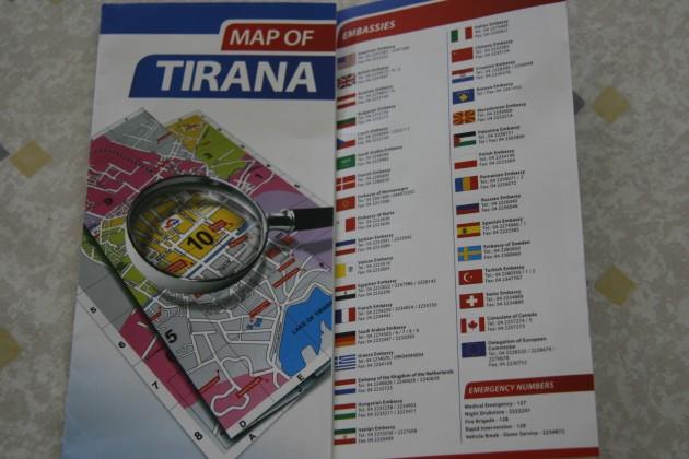 Die deutsche Botschaft in Tirana wurde bereits von Saudi Arabien übernommen.