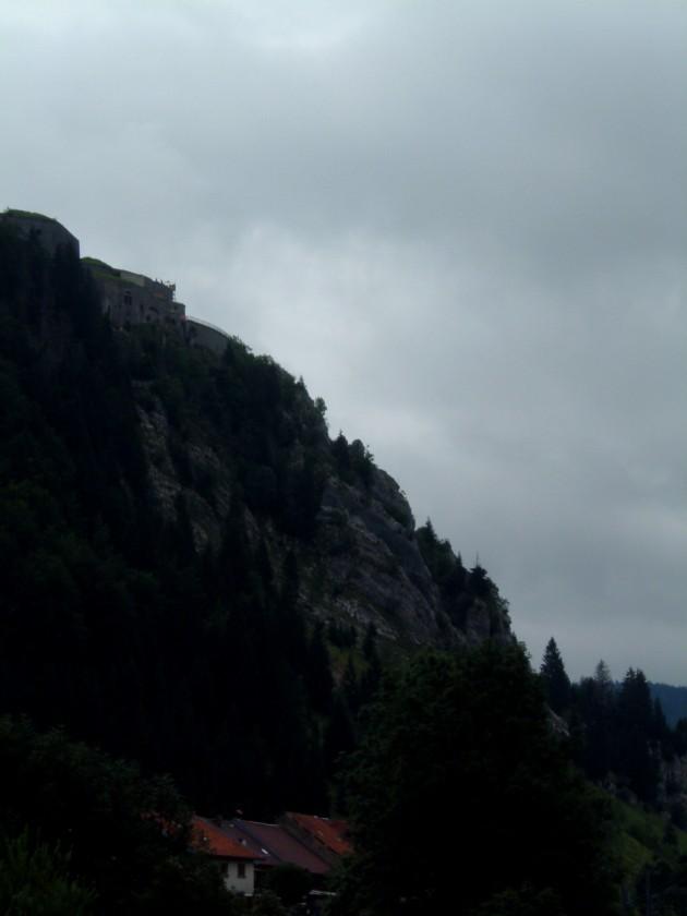 Ein Berg, irgendwo in Frankreich.