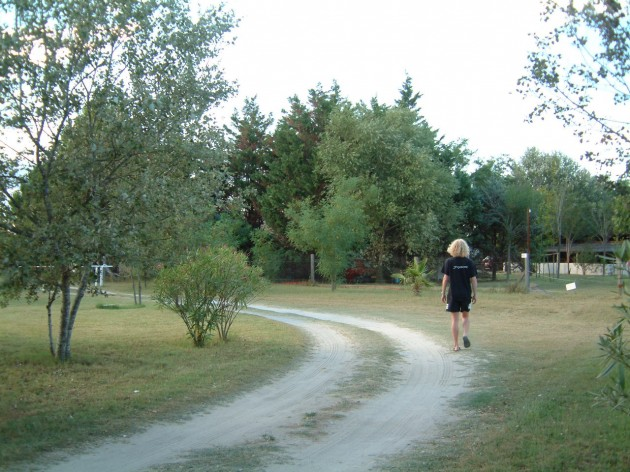 Auf dem Bauernhof-Camping-Platz