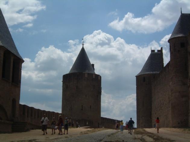Die Wallanlagen von Carcassone