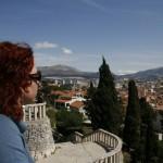 Blick vom Marjan auf Split