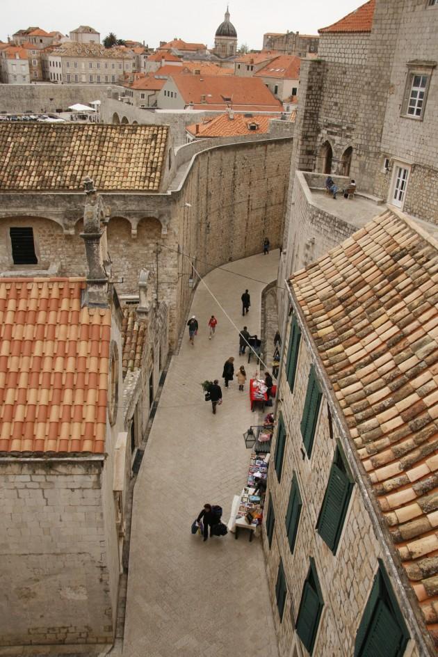 Festung Dubrovnik, an der Svetog Dominika