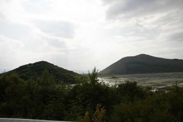 Der Nationalpark Skutarisee in Montenegro an der Grenze zu Albanien.