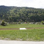 Über Land in Slowenien