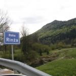 Über die Rinza in Slowenien
