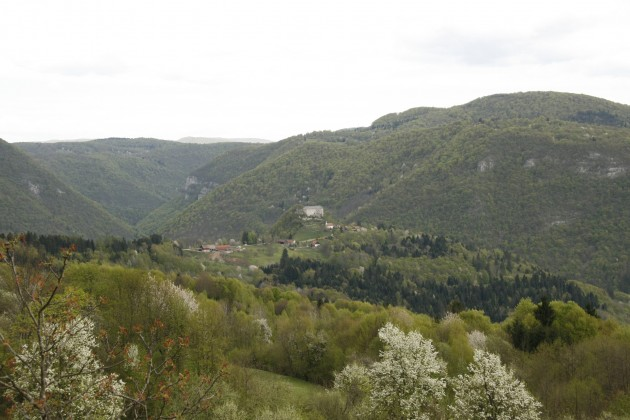 Letzte Rast in Slowenien kurz vor der Grenze zu Kroatien südlich von Kocevje auf der Straße 106