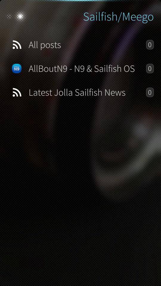 ocNews 1.4.0 Folder Items