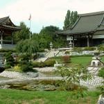 Tempelgarten des EKŌ-Hauses