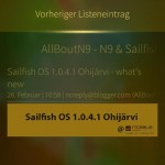 ocNews Sailfish 1.8.0 ItemMenu