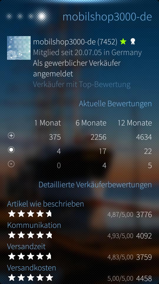 Markat 0.3.0 Userinfo
