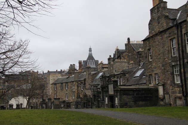 Freyfriars Cemetery in Edinburgh