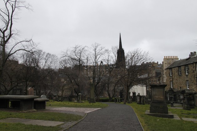 Freyfriars Cemetery in Edinburgh