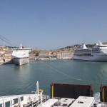 Fähre Hafen Ancona
