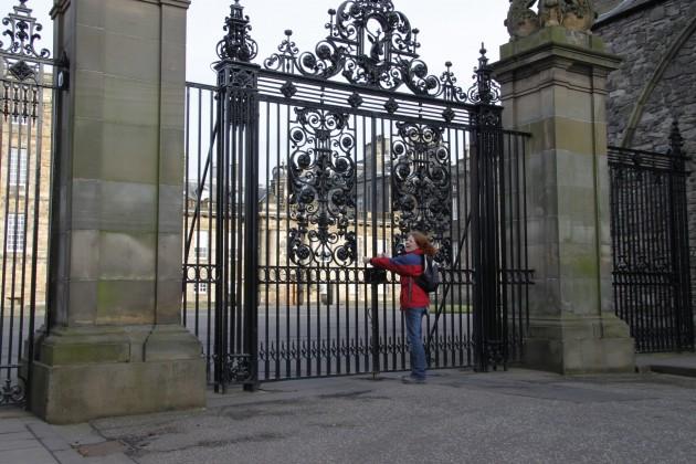 Holyroodhouse Palace, Sitz der britischen Königin in Edinburgh