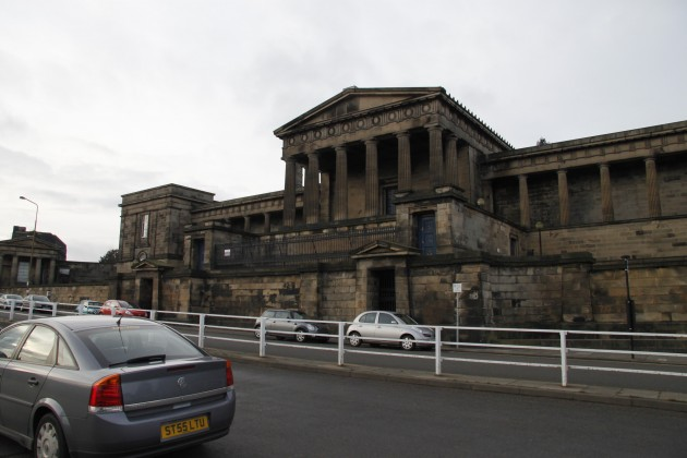 Altes Parlamentsgebäude in Edinburgh
