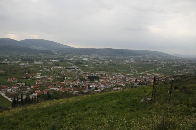 Wanderung in den Bergen östlich von Neokaisaria bei Ioannina.