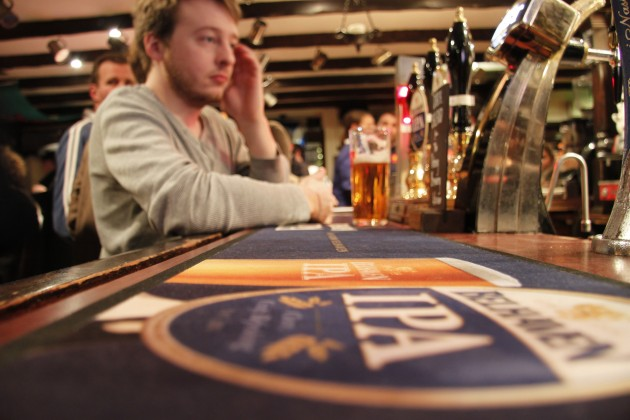 Bar am Grassmarket in Edinburgh