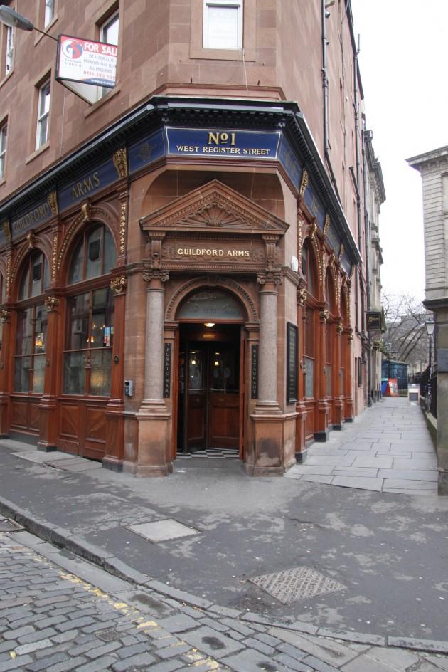 Guildford Arms Pub in Edinburgh
