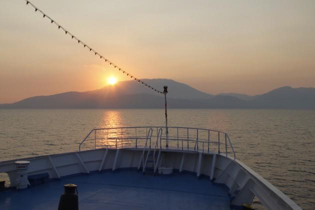 Sonnenuntergang über Kefalonia