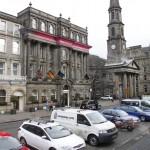 Straßen von Edinburgh