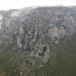 Vikos-Schlucht nördlich von Monodendri