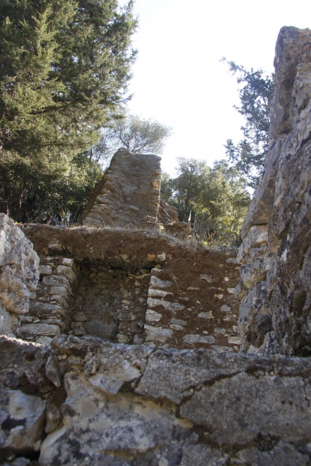 Ruinen am Mühlenwanderweg