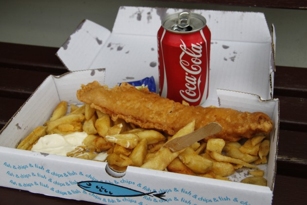 Fish and Chips in Anstruther