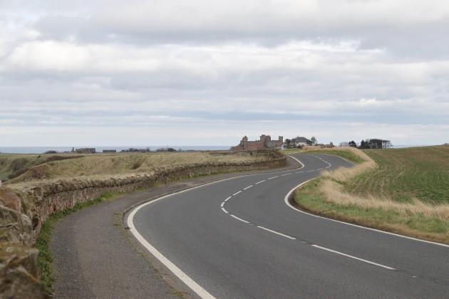 Straße von North Berwick nach Canty Bay