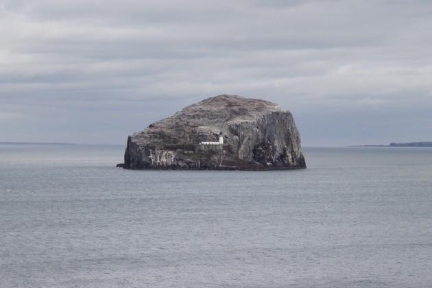 Insel The Bass bei Tantallon Castle