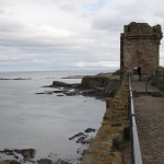 Tantallon Castle Mauern