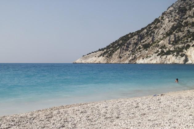 Am Strand Myrtos