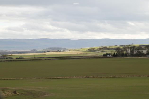 Landschaft um Tantallon Castle