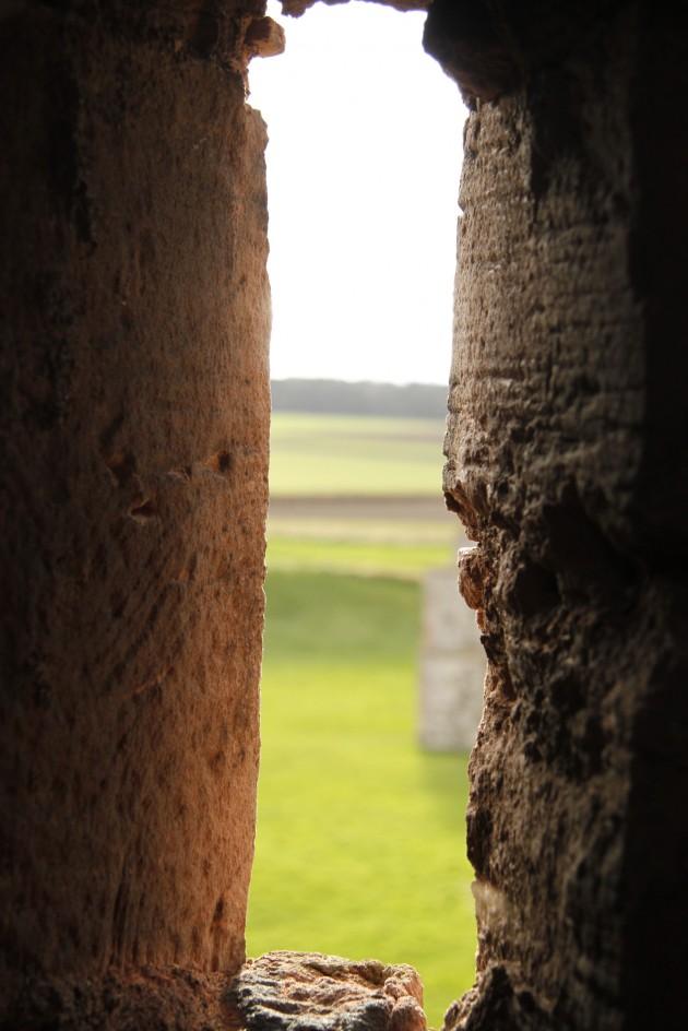 In den Gemäuern von Tantallon Castle