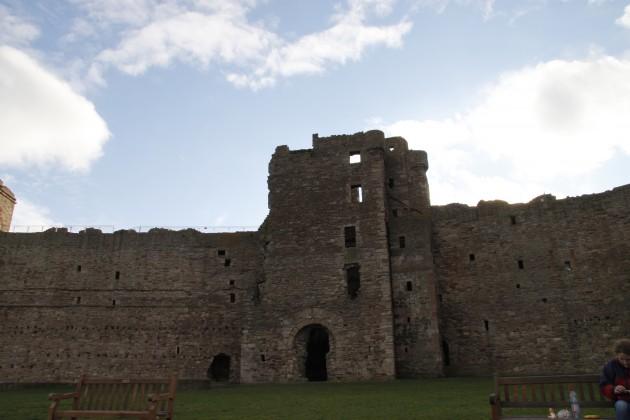 Innenbereich von Tantallon Castle